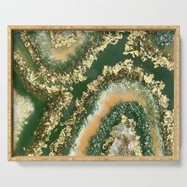 Geode Resin Art Serving Tray