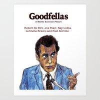 goodfellas Art Prints featuring GoodFellas by AdrockHoward