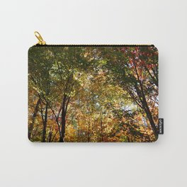 Through the Trees in October Carry-All Pouch