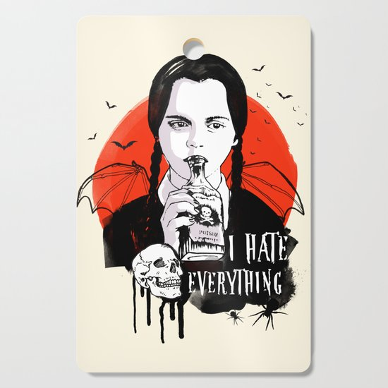 Wednesday The Addams family art by twotoastdesign