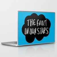 tfios Laptop & iPad Skins featuring TFiOS by Hoeroine