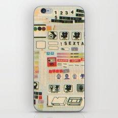 sextape iPhone & iPod Skin