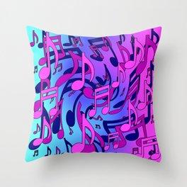 Beautiful Music  Throw Pillow