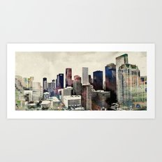 Space City Art Print