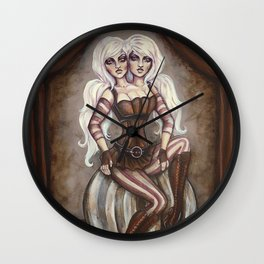 The Conjoined Twins Wall Clock
