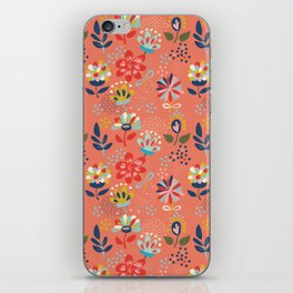 Pretty Floral iPhone Skin