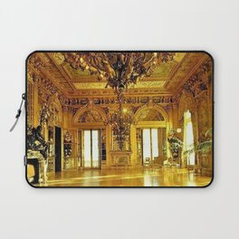 Newport Mansions, Rhode Island - Marble House - Gold Room #2 Laptop Sleeve