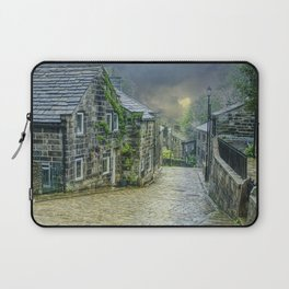 Cobbles And Clouds Laptop Sleeve