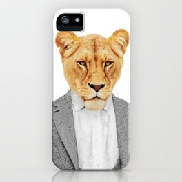 Lioness Feminist Girl Boss iPhone Case