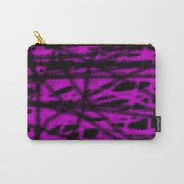 pink and black wire Carry-All Pouch