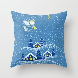 MAGIC ANGEL Throw Pillow