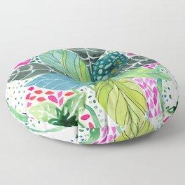Leafy Tropical Floor Pillow