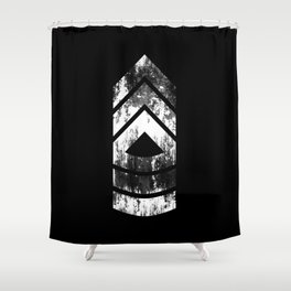 Master Sergeant (weathered) Shower Curtain