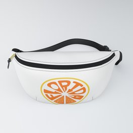 Florida Orange Fanny Pack
