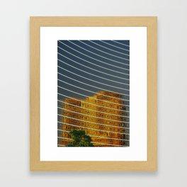 Opulent Reflection Framed Art Print