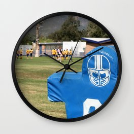 Football Dummy Wall Clock