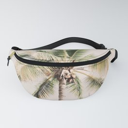 Tropical Palm Tree Fanny Pack