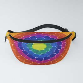 Classical African-American Masterpiece 'Resurrection' by Alma Thomas Fanny Pack