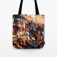chinese Tote Bags featuring Chinese Koi by Alexander Jedermann