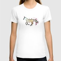 horse T-shirts featuring Horse by Brontosaurus