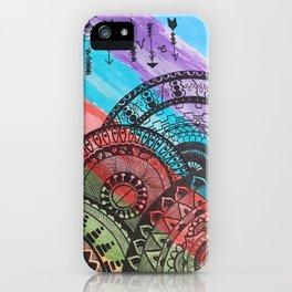 Mandala Abstract 1 iPhone Case