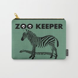 ZOO KEEPER LOGO SYMBOL Carry-All Pouch