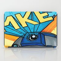 milwaukee iPad Cases featuring Milwaukee: R2D2 MKE by Amanda Iglinski