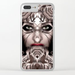 She-Borg Soulsqueezer Clear iPhone Case