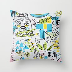 Shape Shifters Throw Pillow