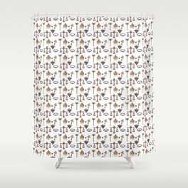 To Help You Duel Ver.2 Shower Curtain
