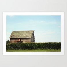 On the Outskirts  Art Print