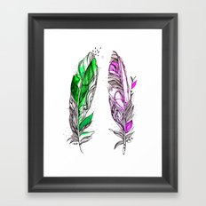 You and Me 2 Framed Art Print
