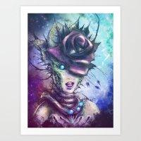 venus Art Prints featuring Venus by Vincent Vernacatola