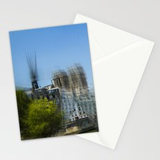 then finds me at night Stationery Cards