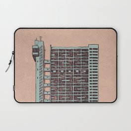 Brutalist Architecture Trellick Tower  Laptop Sleeve