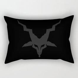 Black Metal Baphomet Rectangular Pillow