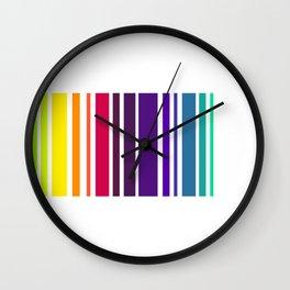Code Rainbow Wall Clock