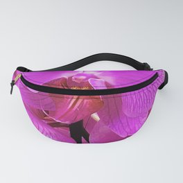 Pink-Purple Vibrant Luxurious Tropical Orchids Fanny Pack