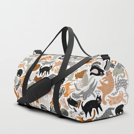 Cats Forever by Veronique de Jong Duffle Bag