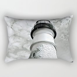 Lighthouse in Maine Rectangular Pillow