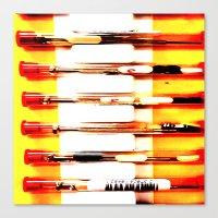 kit king Canvas Prints featuring Eyeglasses Kit by Jeffrey J. Irwin