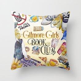 GG Book Club Throw Pillow