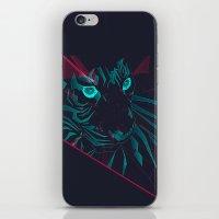 zodiac iPhone & iPod Skins featuring Zodiac Tiger by Schwebewesen • Romina Lutz