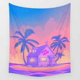 80s Kame House Wall Tapestry
