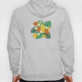 Limahuli Garden Hawaiian Floral Design Hoody