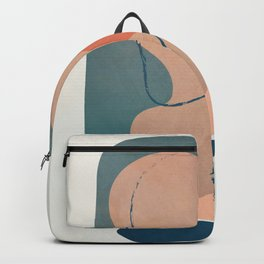 Minimal Abstract Shapes No.44 Backpack