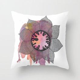 Spring Creature Throw Pillow