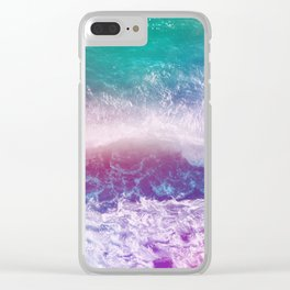 Infinite Waves and Endless Summers Clear iPhone Case