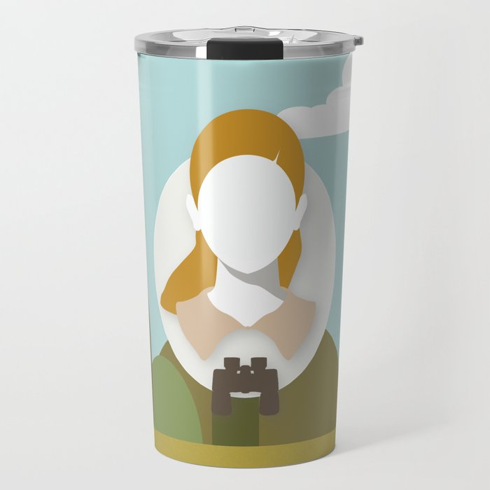 Moonrise Kingdom - Suzy Bishop (Kara Hayward) Travel Mug