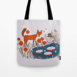 The Four Elements- Lilac Tote Bag